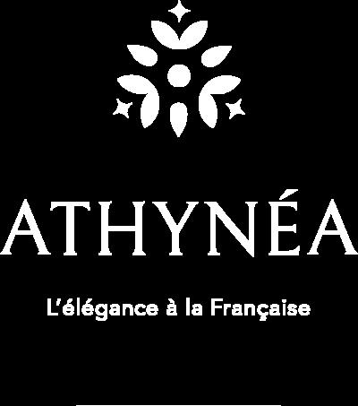 Logo athynea-blanc-transparent pour landing page